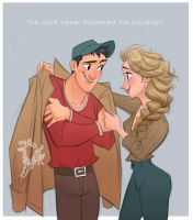 Tadashi and Elsa by Ardinaryas
