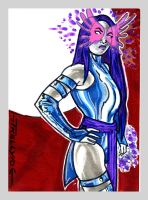 psylocke card1 by TomKellyART