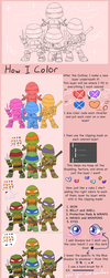 How I Color by CutieClovers
