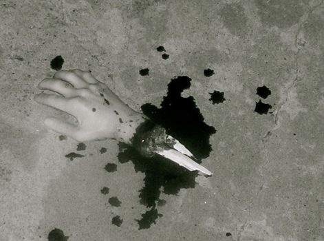 Severed Hand 01 by zombiesareforlovers