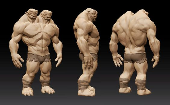 Ettin Sculpt by MinohKim