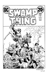 Swamp thing 5 recreation by JosephLSilver