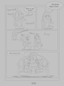 Cuphead and Mugman in Coffee Conundrum Page 3 by GrinsandSmiles