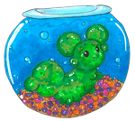 Marimo For Tori by VernFeathers