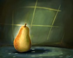 Still Life Painting fruit by eydii