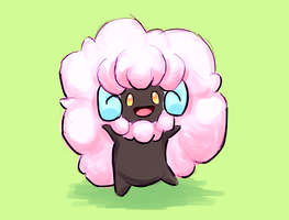 Pink Whimsicott (Pokemon)