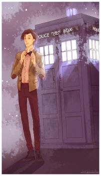 Doctor Who by viria13