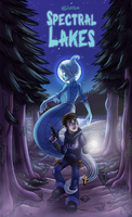 Spectral Lakes Poster by InkRose98