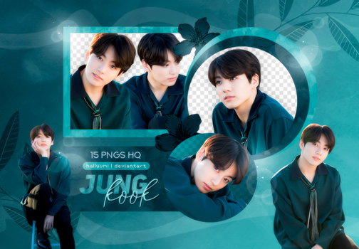 PNG PACK: JungKook #24 (BTS 5TH ANNIVERSARY) by Hallyumi