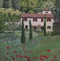 Spring in the Tuscan Hills, Italy by FredaSurgenor