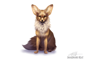 Eevee Week - Eevee by Imaginary-Rat