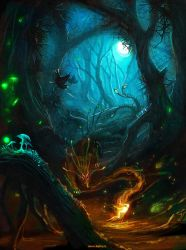 forest life by Ketka