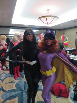 Fetish Con 2014: Batgirl and the Villain by CarlShepard
