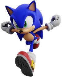 Sonic Adventure DX: Director's Cut - Sonic Render by ModernLixes