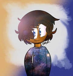 Galaxy - Paintingwithstardust [Art Trade] by Jigglyking20