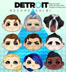 Detroit: Became CHIBI! by LadyNamy