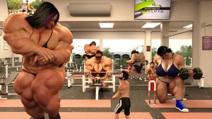 The Size Change Resort - The Gym by Galiagan
