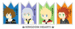 Kingdom Hearts - SokuAkuroku by trisstesa17