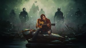 Last of Us Ellie Drawing by Binary-Map