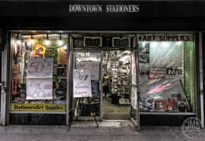 Downtown Stationers by steeber