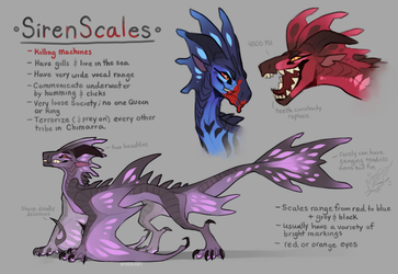 SirenScales - WoF Fantribe concept thing by Spookapi