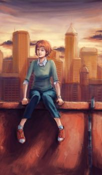 On the Roof by Ilyich