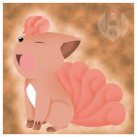 Vulpix is happy to see you by quazo