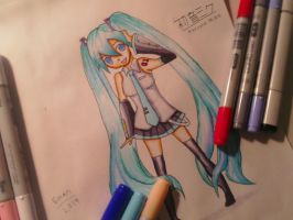 Hatsune Miku!!!!! (For the onemillionth time! ^^) by Emantheawsome13