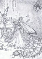 here comes the bog bride by k-bass