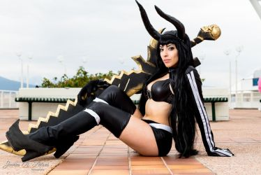 Black Gold Saw [Lily Stella Cosplay] by Detrust
