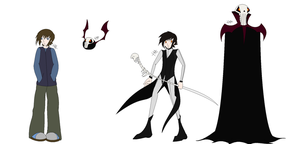 Nathan and Thanatos concepts by Siromany