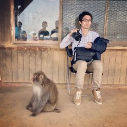 Monkey And A Man by danlev