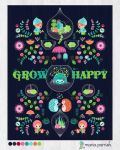 Grow Happy Little Terrarium by minercia