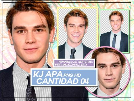 KJ APA\\ PNG PACK by feelingsoverated