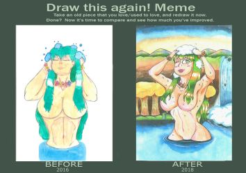 Then and now - Mother nature by MidnightDJ-SK