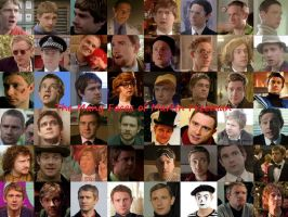 Many Faces of Martin Freeman by pfeifhuhn
