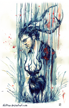 Will Graham by AkiMao
