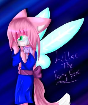 Lillac the Fox fairy by lupie1324