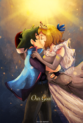 Master And Queen Kiss by GreatPeace
