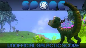 Spore UGS Title Card: Creature by GBAura
