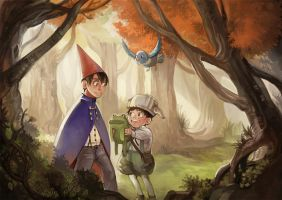 Over the Garden Wall by AoTsuyu