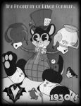 1930's - Boxy the Mad Hatter by PlayboyVampire