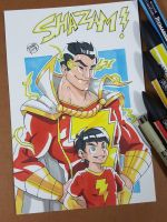 Day 249 SHAZAM! by TomatoStyles