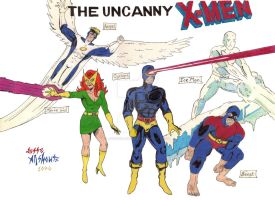 The Uncanny X-Men by JesseAllshouse