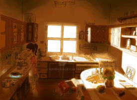A kitchen by namDs666