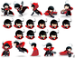 Red Hood Character layout