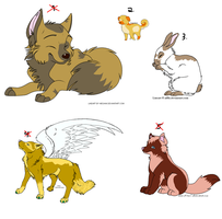 Animal adopts - Adopt us - 10 POINTS EACH by iedasb