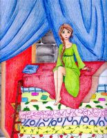 Fairy Tale IX:The Princess_Pea by ElyonHeart