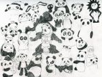 Awesome Meeting Of Awesome Pandas by wintercool612
