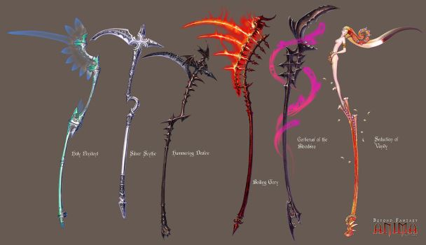 Anima: Scythes set 1 by Wen-M
